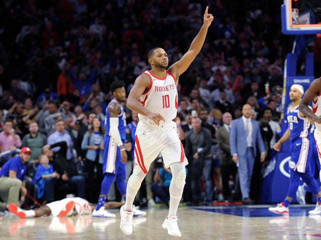 Eric Gordon Caps Rockets Comeback With Buzzer-Beating Three
