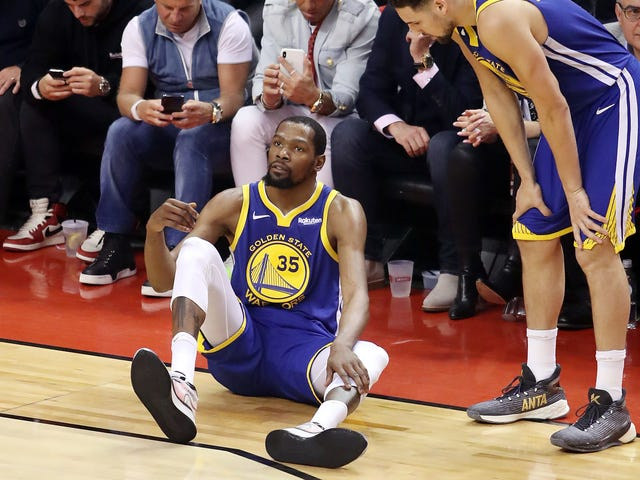 Kevin Durant Ruptured His Achilles Tendon, And The Warriors Are Shocked