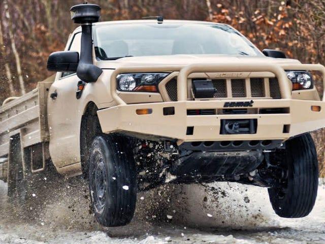 Ford Ranger dan Everest Look Newly Badass sebagai Kenderaan Tentera
