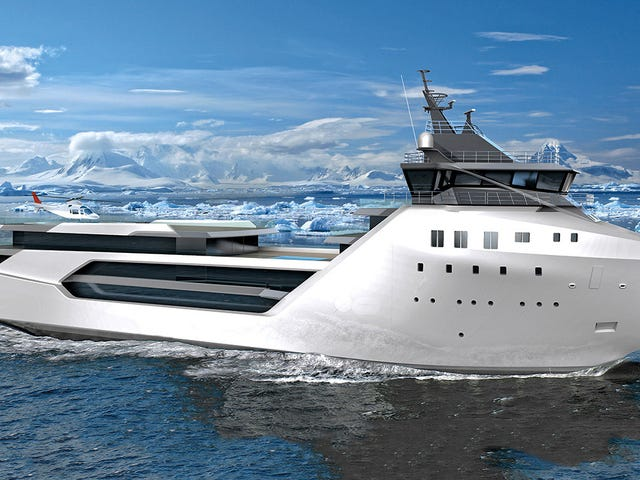 How to Turn a Supply Ship Into a $62 Million Luxury Yacht
