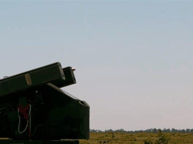 L'ejército de los Estados Unidos está drádrando drones usando misiles de 38.000 dólares