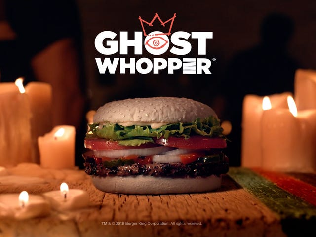Burger King's Ghost Whopper becomes only burger approved by dead people