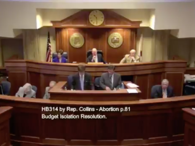 The Chaotic Spectacle of Alabama Republicans Fighting to Criminalize Abortion at Conception