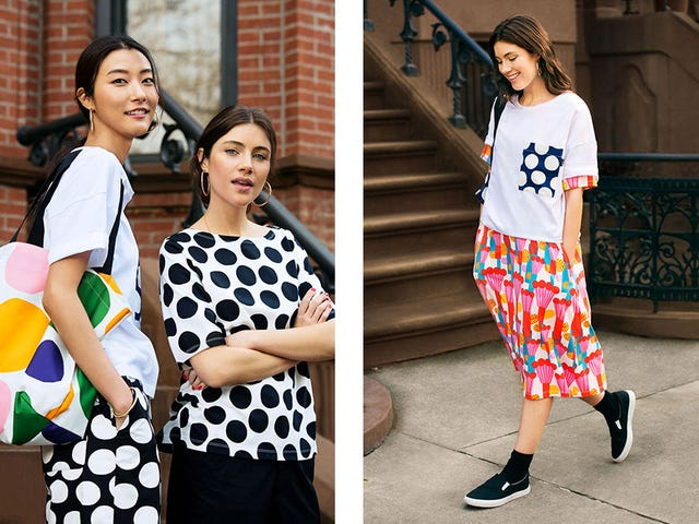 Uniqlo Goes Finnish With a Bold and Bright Marimekko Collaboration