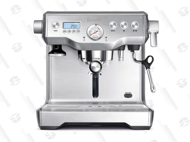 Treat Yourself To This Ridiculous Espresso Machine For Over $100 Less Than Usual