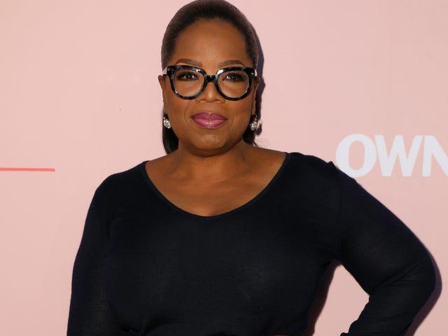 Oprah przyznaje się do płaczu nad utraconą miłością, udziałami Brak telewizora o czarnej miłości i więcej na premierze <i>Love Is ___</i>