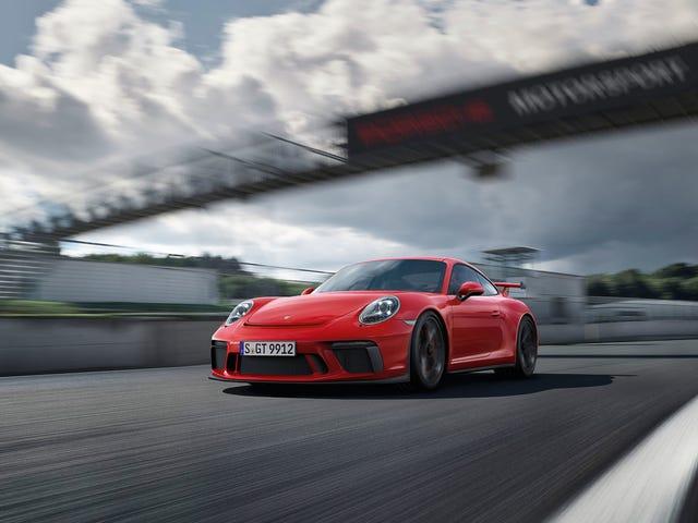 """Faktum är att Porsche laddar dig """"mer"""" för en manuell 911 GT3"""