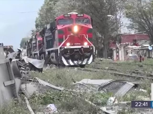 Mazda está sendo massacrada porque os trens são roubados quase diariamente nesta cidade mexicana