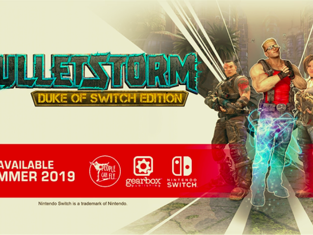 Bulletstorm sta arrivando per Switch quest'estate, Gearbox ha annunciato oggi al loro panel PAX East