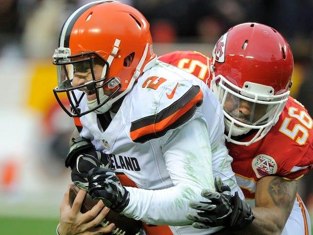 Informes: Browns cortará a Johnny Manziel en marzo