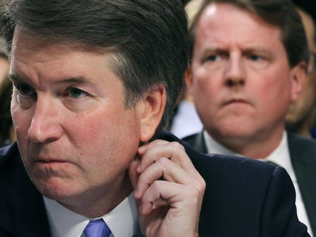 Brett Kavanaugh Thinks Being a Virgin Means You Can't Sexually Assault Anyone