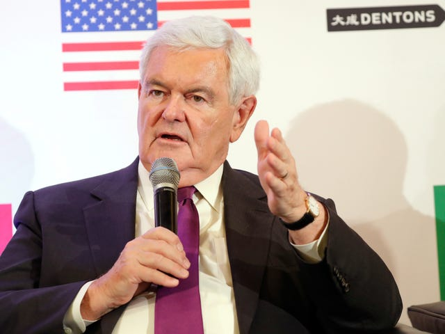 Newt Gingrich: If Democrats Want to See Trump's Tax  Returns Then We'll See If the Kavanaugh Fight Was Worth It