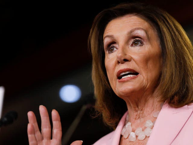 Pelosi Backs Passing Laws to Make It Easier to Indict Tru ..., Uhm, Any Sitting President