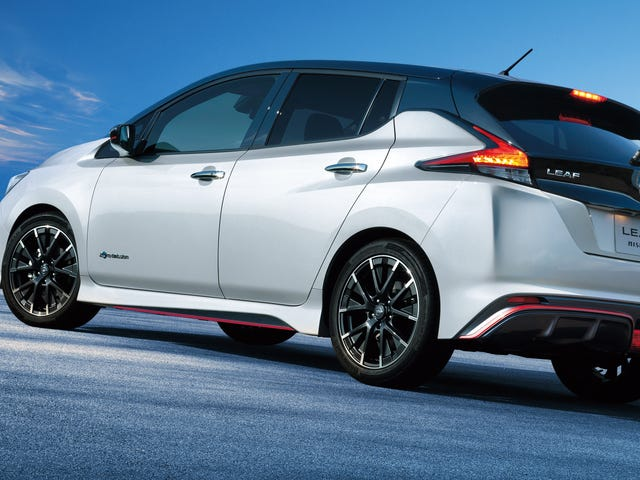 The 2019 Nissan Leaf Nismo Is Happening