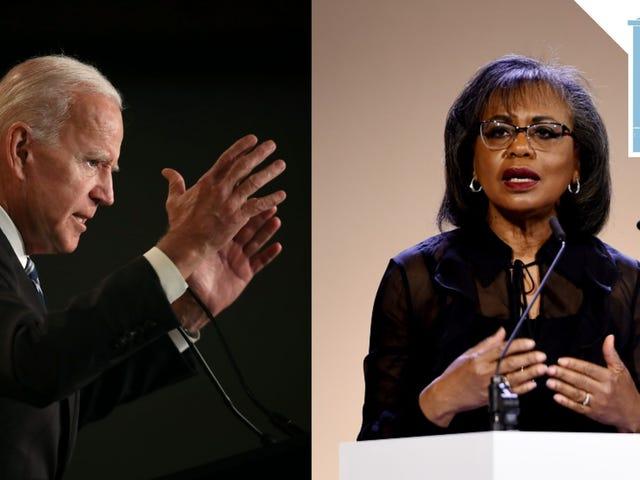 Joe Biden ha chiamato Anita Hill per scusarsi 27 anni troppo tardi