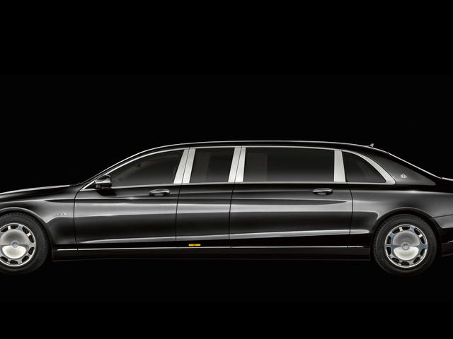 Nobody Is Good Enough For The New Mercedes-Maybach Pullman