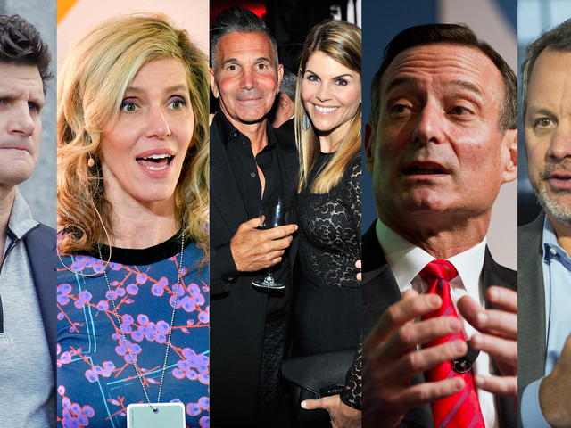 Get To Know The Rich Assholes Charged With Paying Millions In Bribes To Get Their Kids Into College