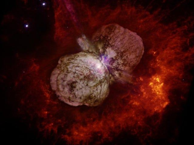 Supernova Imposter Telah Meletus Setidaknya Tiga Kali