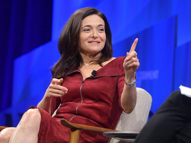 Sheryl Sandberg: We Let Politicians Lie in Facebook Ads for the 'Discourse,' Not the Money