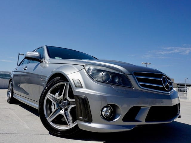 At $19,995, Might This 2009 Mercedes-Benz C63 AMG Be an OMG Good Deal?