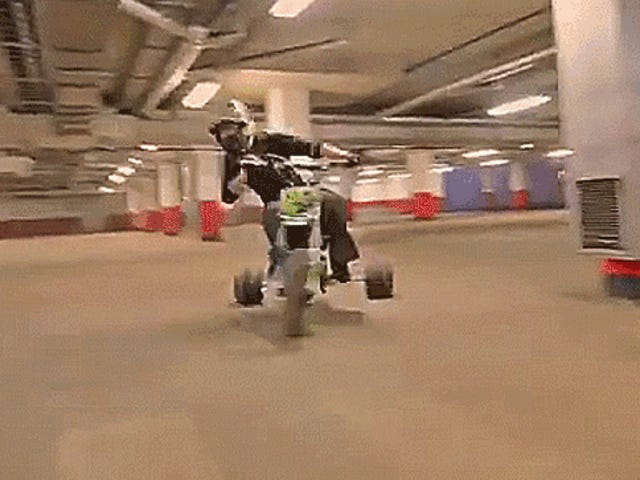 This Motorized Stunt Tricycle Could Run Donuts Around Your Puny Old Big Wheel