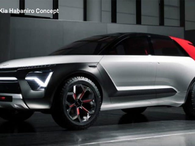 The Kia Habaniro Concept Has an Absurd Name But Looks Hot