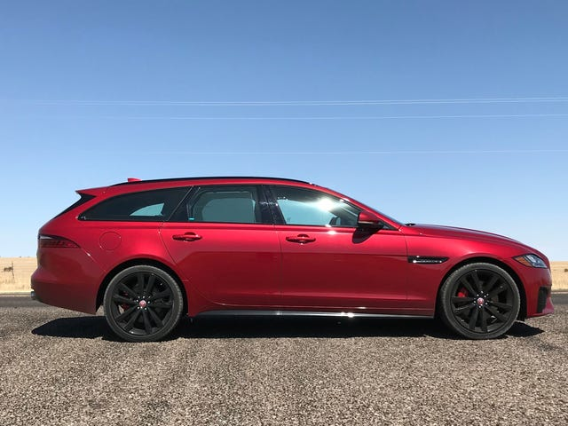 The 2018 Jaguar XF Sportbrake S Is Two Cylinders Short Of Legendary