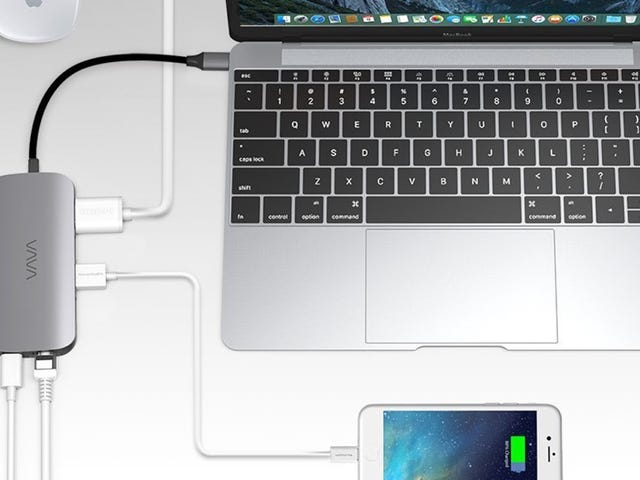 Add a Ton of Ports To Your MacBook With This Affordable Hub