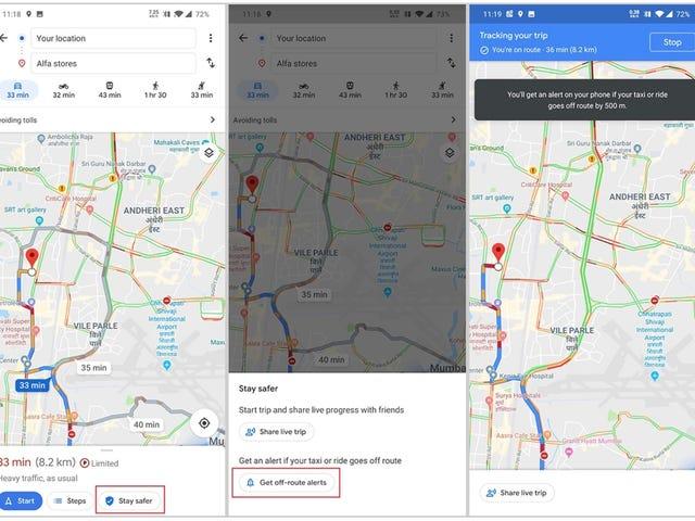 Карти Google нададуть вам інформацію про аккуратне місце, де ви знайдете таку інформацію