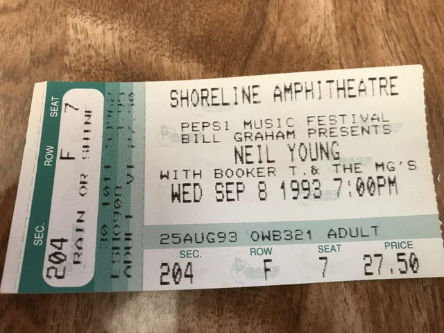 Neil Young + Booker T. & the M.G.'s