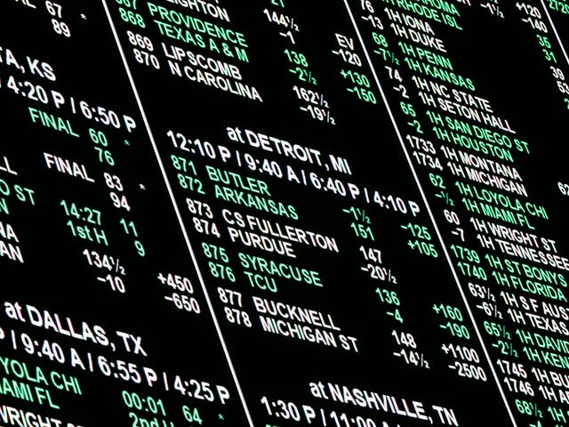 Supreme Court Ruling Overturns Ban On Sports Betting