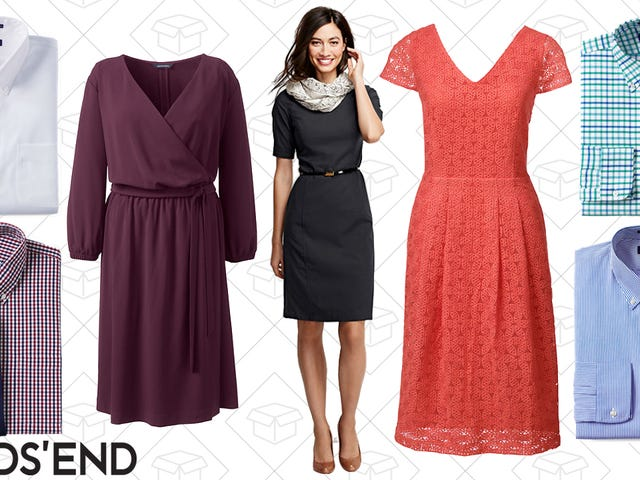 Grab 30% Off Dresses and Dress Shirts at Lands' End
