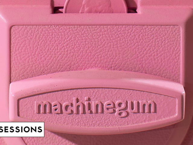 Machinegum plugs in for our latest House Show