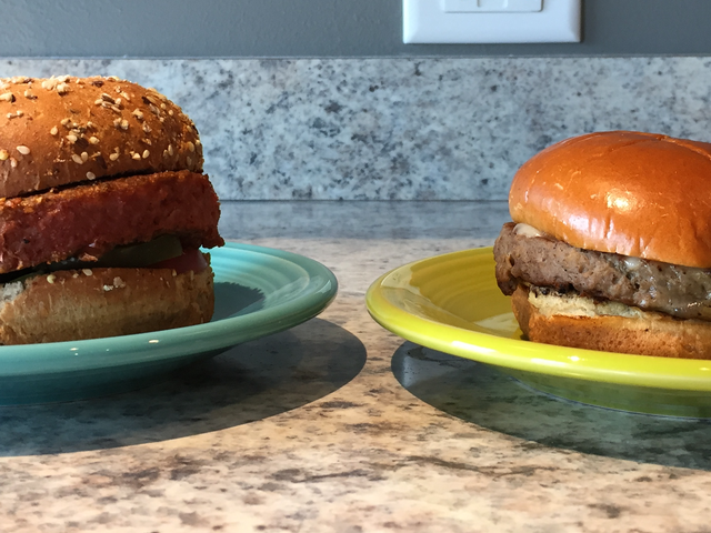 Fake Meat Smackdown: Impossible Burger vs. Beyond Burger