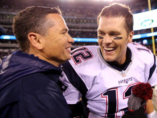 Shady Trainerに関する質問の後、Tom Bradyがラジオインタビューで電話を切る