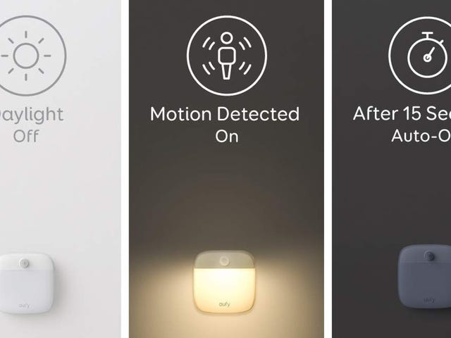 Find Your Way to the Toilet At Night With These Stick-Anywhere Night Lights