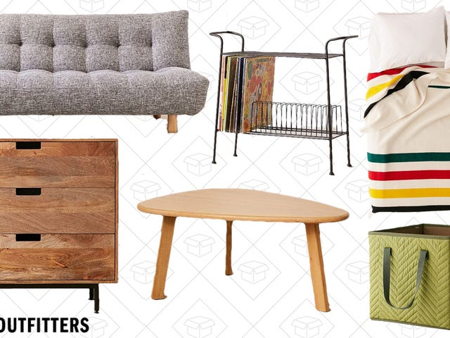 Redo Your Place for Up to 50% Off Urban Outfitters Furniture and Bedding, Today Only