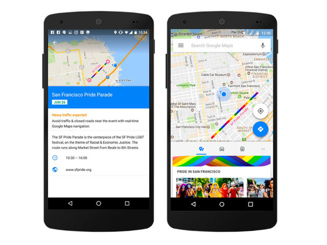 Find Pride Events in Your Area With Google Maps