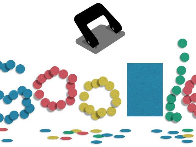 Google celebra 131 años de historia de la perforadora de papel por razones que escapan a nuestro entendimiento