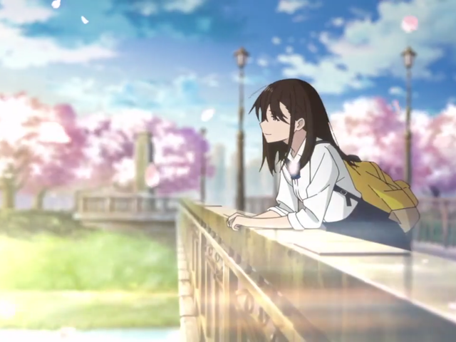 "Here it is the new teaser of the movie ""Let me Eat your Pancreas"""