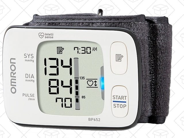 Track Your Blood Pressure With This Well-Reviewed Monitor, On Sale Today Only