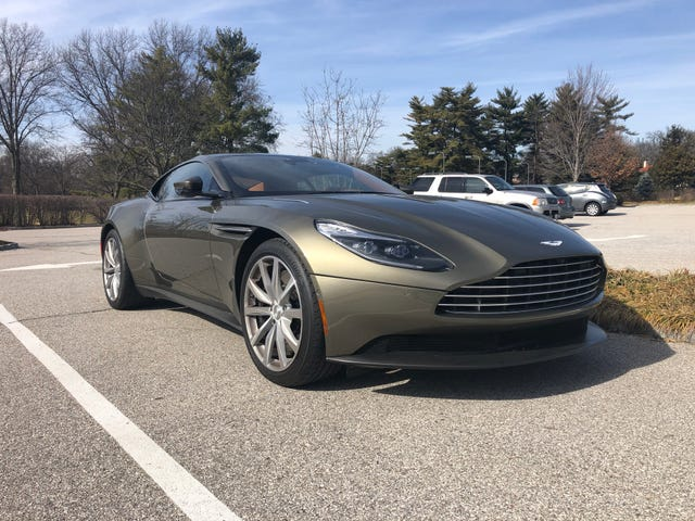 Even this color can't ruin the beauty of the DB11