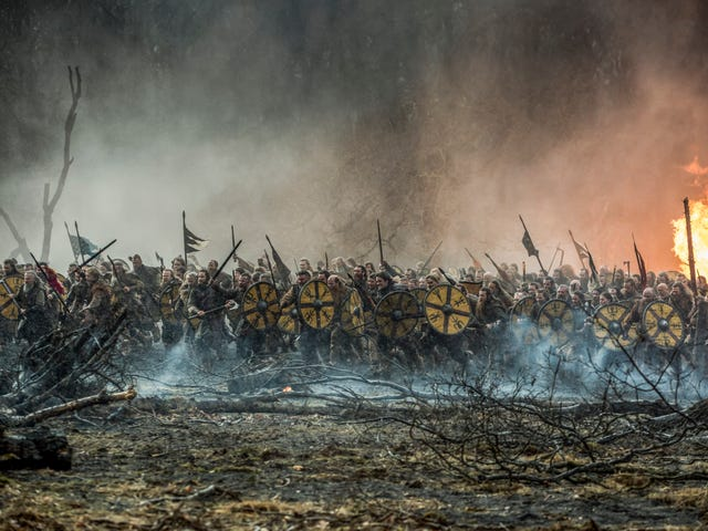 An impressive battle and a surprising death can't save Vikings from itself