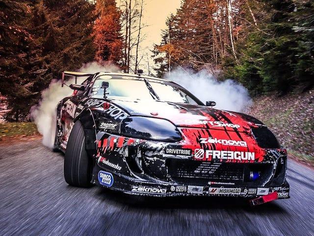 Drifting? Check. Supra? Check.