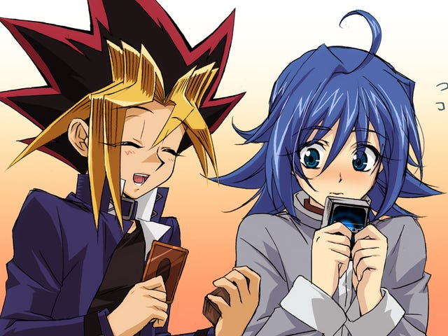 Cardfight!! Vanguard and Yu-Gi-Oh! Clashes with each other!