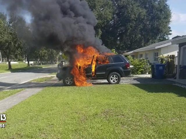 Un hombre de Florida asegura que su galaxy Note 7 calcinó un Jeep Cherokee