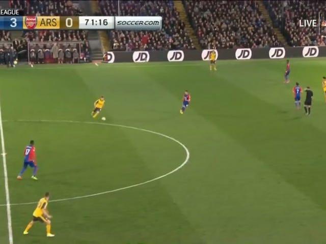 Crystal Palace Fanit Serenade Lame Duck Arsenal Boss, aloita Hänen pysyä tiiminsä kanssa
