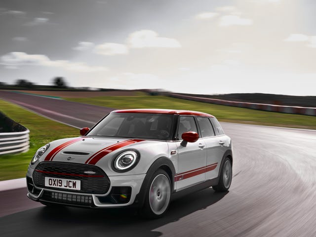 Bagong 306-HP Mini Clubman at negosyante John Cooper Works Aim Para sa Hot Hatch kadakilaan