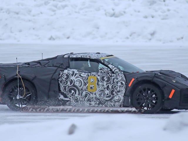 I Have No Idea What This Mid-Engine Corvette C8.R Race Car Sounds Like