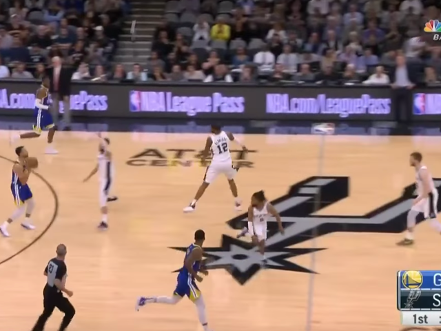 Steph Curry Busts Out Of A Slump With A Damn 60-Footer
